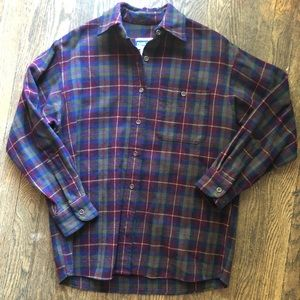 Pendleton Knockabouts 100% Wool Flannel Shirt